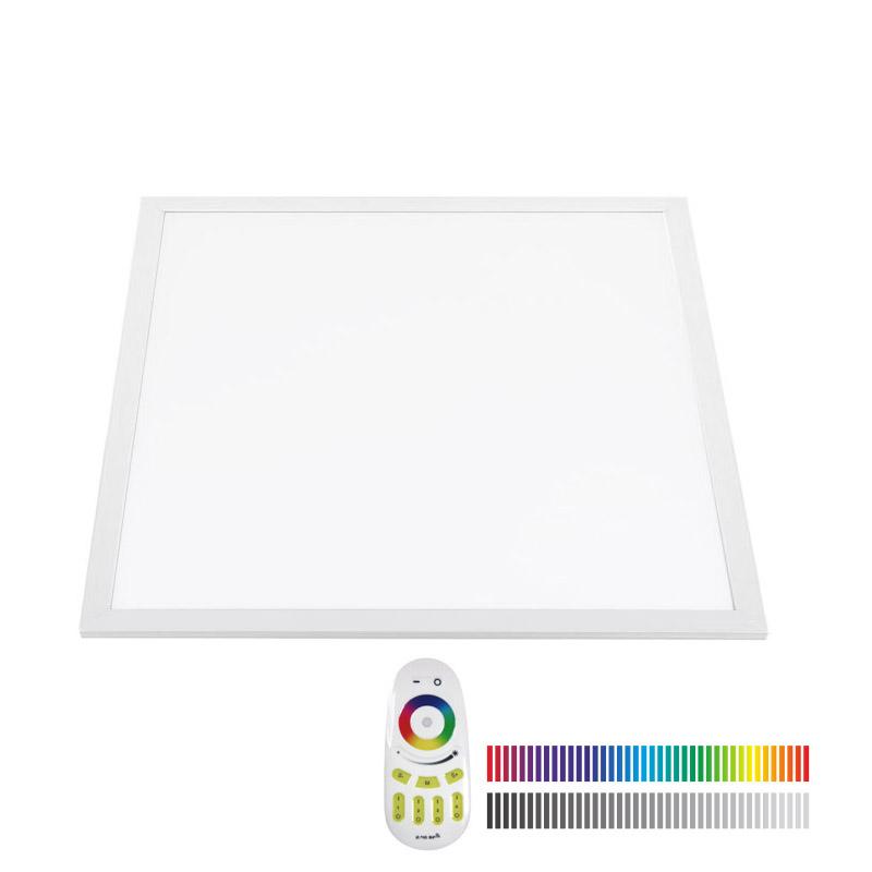 Panel LED 48W, RGB+CW, RF, 60x60cm